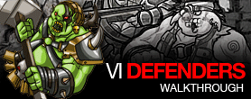 Vi Defenders Walkthrough