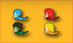 Color Heroes - Flying Heroes